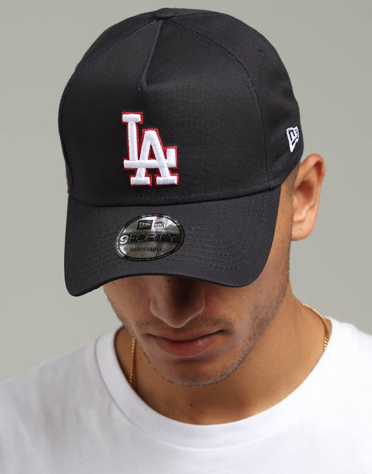 0f2914cabaf New Era Los Angeles Dodgers 9FORTY A-Frame Snapback Navy Scarlet White –  Culture Kings
