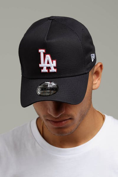 New Era Los Angeles Dodgers 9FORTY A-Frame Snapback Navy Scarlet White 4fd9c9d5c501