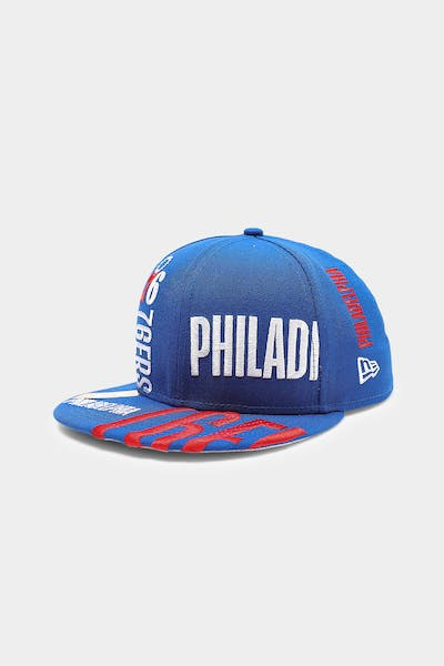 New Era Philadelphia 76ers 9FIFTY 19 Tip Off Snapback Royal