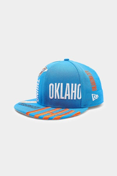 New Era Oklahoma City Thunder 9FIFTY 19 Tip Off Snapback Blue