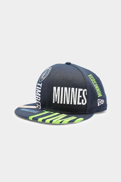 New Era Minnesota Timberwolves 9FIFTY 19 Tip Off Snapback Navy