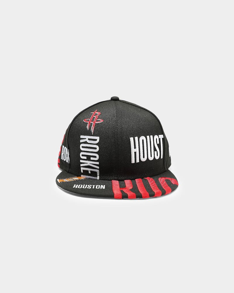 New Era Houston Rockets 9FIFTY 19 Tip Off Snapback Black