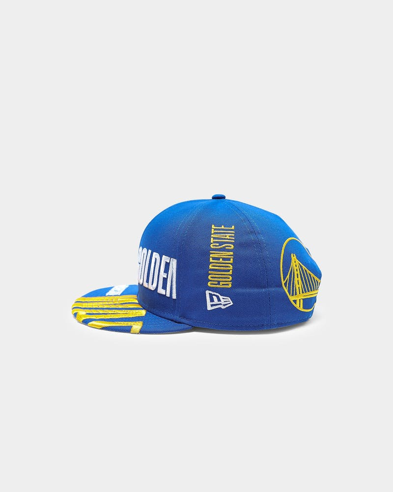 New Era Golden State Warriors 9FIFTY 19 Tip Off Snapback Royal
