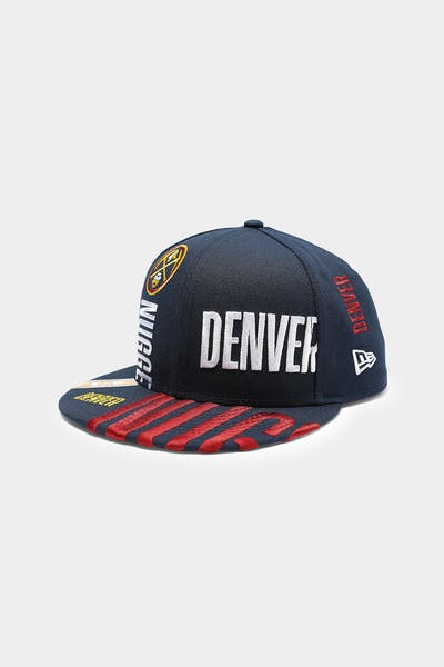 New Era Denver Nuggets 9FIFTY 19 Tip Off Snapback Navy