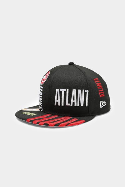 New Era Atlanta Hawks 9FIFTY 19 Tip Off Snapback Black