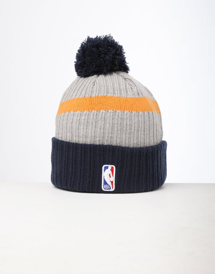 96c4b5203 New Era Utah Jazz Knit NBA Draft Beanie Navy/OTC
