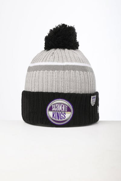 New Era Sacramento Kings Knit NBA Draft Beanie Black/OTC
