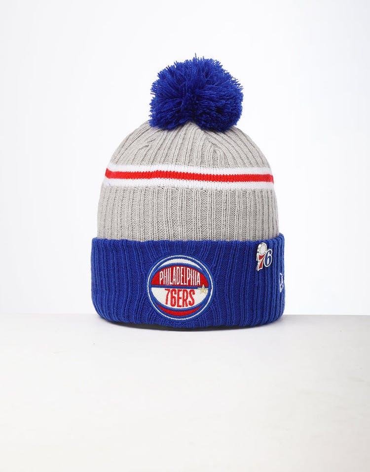24b2c90618e70a New Era | Philadelphia 76ers Knit NBA Draft Beanie | Mens | OG – Culture  Kings