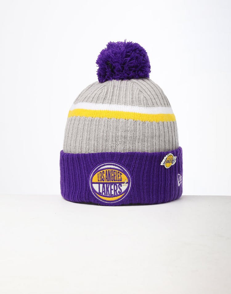 official photos f1bb9 f2655 New Era Los Angeles Lakers Knit NBA Draft Beanie Royal OTC – Culture Kings
