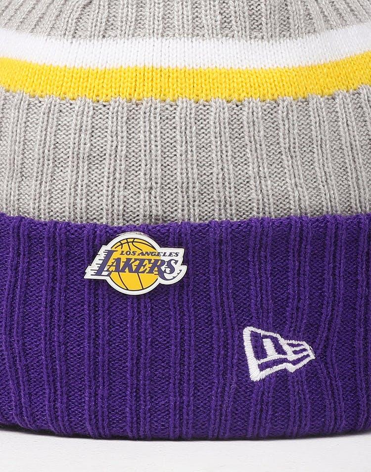 9500c6276 New Era Los Angeles Lakers Knit NBA Draft Beanie Royal/OTC