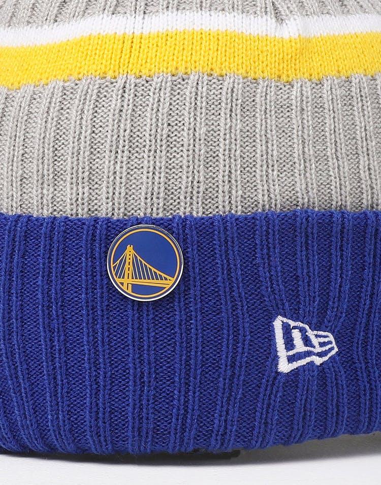 8a1c5697d New Era Golden State Warriors Knit NBA Draft Beanie Royal/OTC