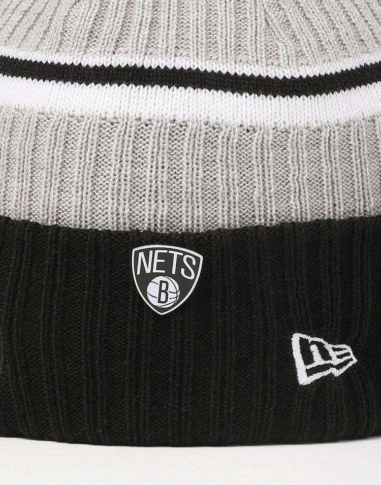 bf28b3af6 New Era Brooklyn Nets Knit NBA Draft Beanie Black/OTC