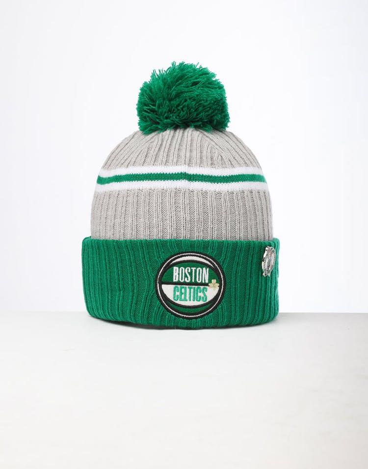 353f8ee3a25cb1 New Era | Boston Celtics Knit NBA Draft Beanie Green | Mens | Merch –  Culture Kings