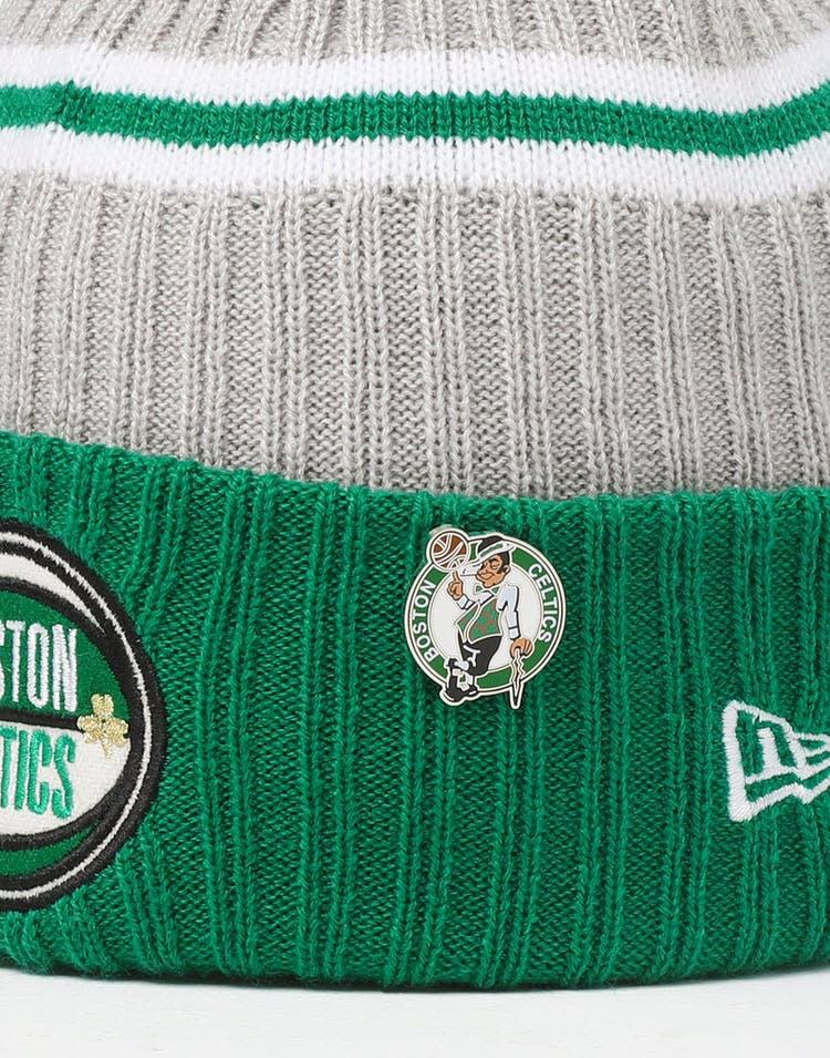 factory price a6907 6146a New Era Boston Celtics Knit NBA Draft Beanie Green OTC