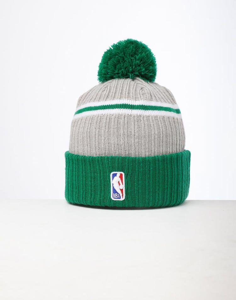 new style 03dee 5743c New Era Boston Celtics Knit NBA Draft Beanie Green OTC – Culture Kings