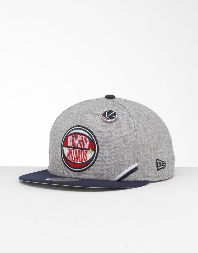 988b50876 New Era Washington Wizards 9Fifty NBA Draft Snapback Navy/OTC