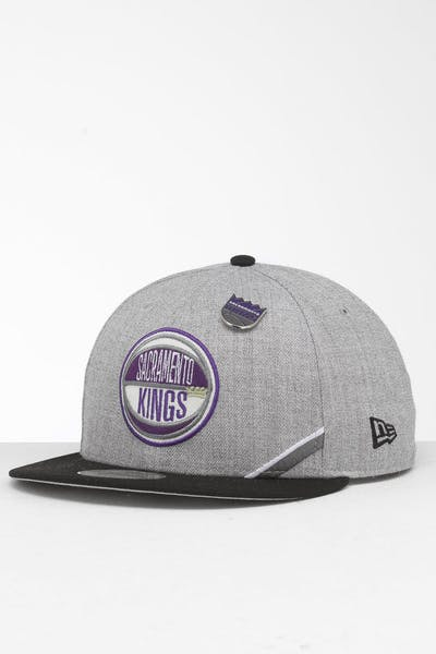 promo code c0044 4621a New Era Sacramento Kings 9Fifty NBA Draft Snapback Black OTC ...
