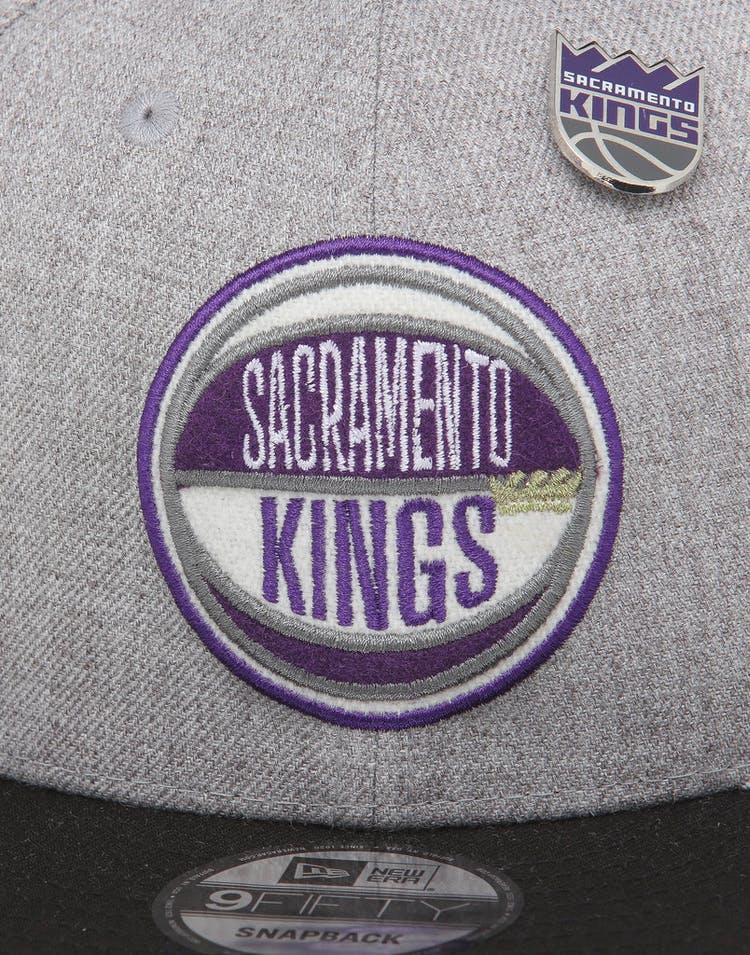 the latest 7b4e1 dc9c9 New Era Sacramento Kings 9Fifty NBA Draft Snapback Black OTC