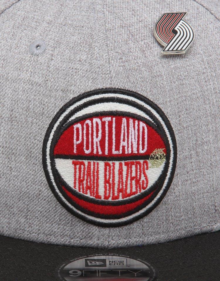 competitive price 0327a d76ea New Era Portland Trail Blazers 9Fifty NBA Draft Snapback Black OTC