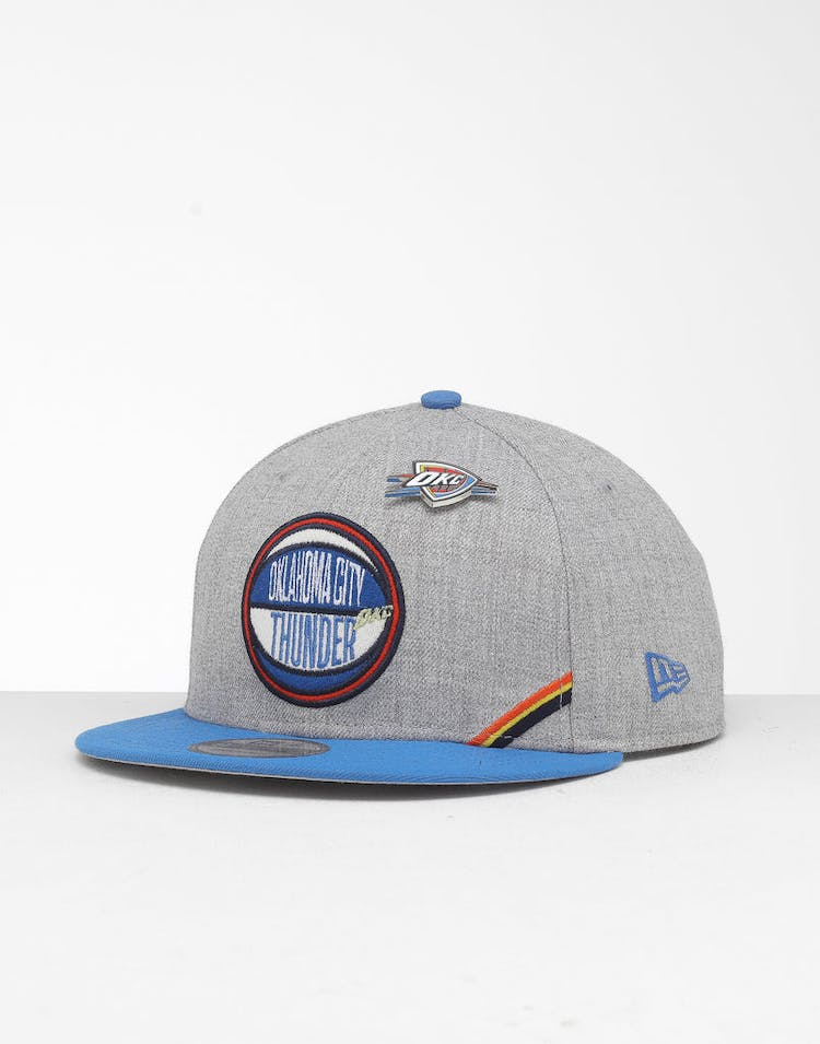 New Era Oklahoma City Thunder 9Fifty NBA Draft Snapback Blue/OTC