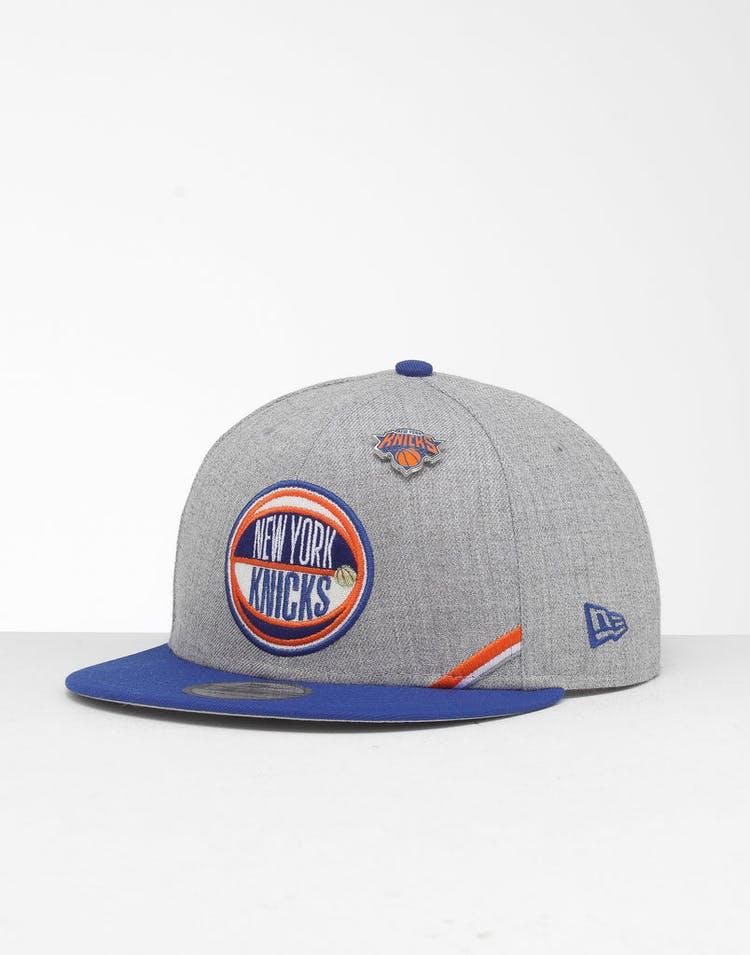 the latest f0981 9a798 New Era New York Knicks 9Fifty NBA Draft Snapback Dark Blue OTC – Culture  Kings