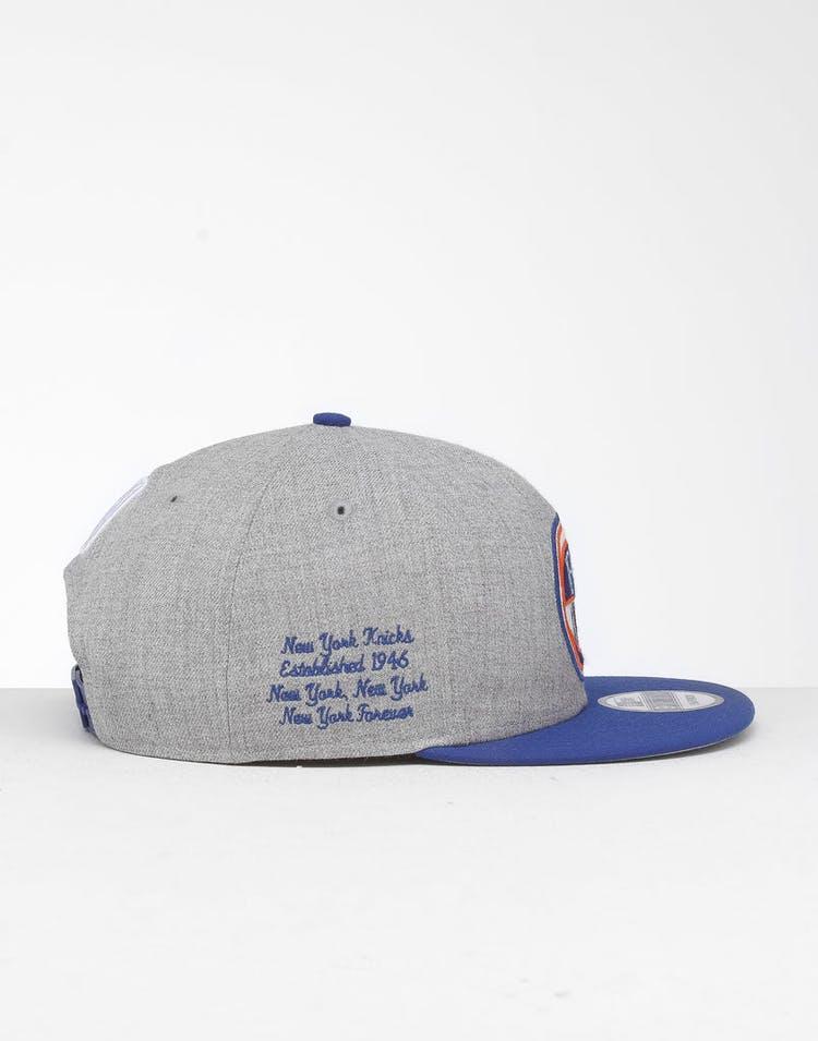 quality design 59bcd 533a9 New Era New York Knicks 9Fifty NBA Draft Snapback Dark Blue OTC