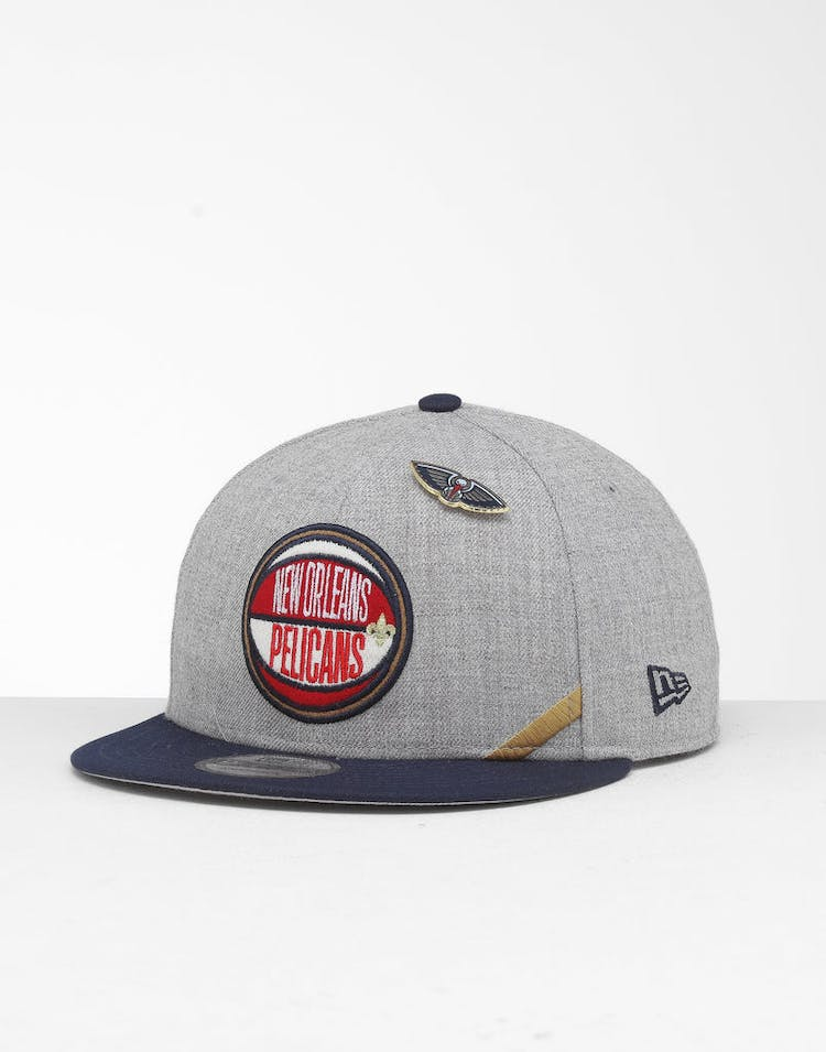 quality design 3c4bb e42cd New Era New Orleans Pelicans 9Fifty NBA Draft Snapback Navy OTC – Culture  Kings