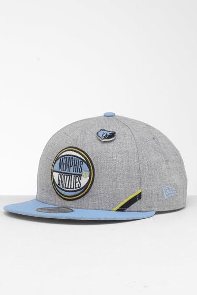 finest selection ca0c3 8f586 New Era Memphis Grizzlies 9Fifty NBA Draft Snapback Sky Blue OTC ...