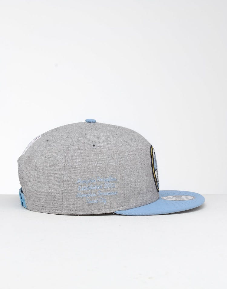 big sale factory authentic new products New Era Memphis Grizzlies 9Fifty NBA Draft Snapback Sky Blue/OTC ...