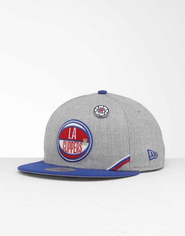 New Era Los Angeles Clippers 9Fifty NBA Draft Snapback Dark Blue/OTC