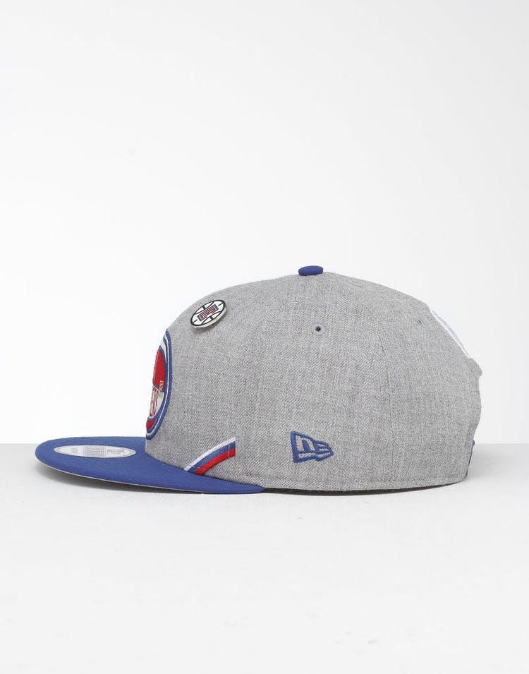 wholesale dealer 42525 e7227 New Era Los Angeles Clippers 9Fifty NBA Draft Snapback Dark Blue OTC