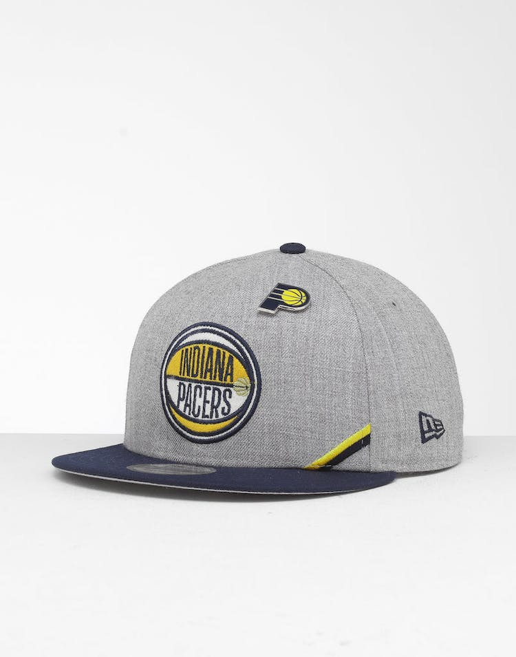 new arrival d0331 87bba New Era Indiana Pacers 9Fifty NBA Draft Snapback Navy OTC – Culture Kings
