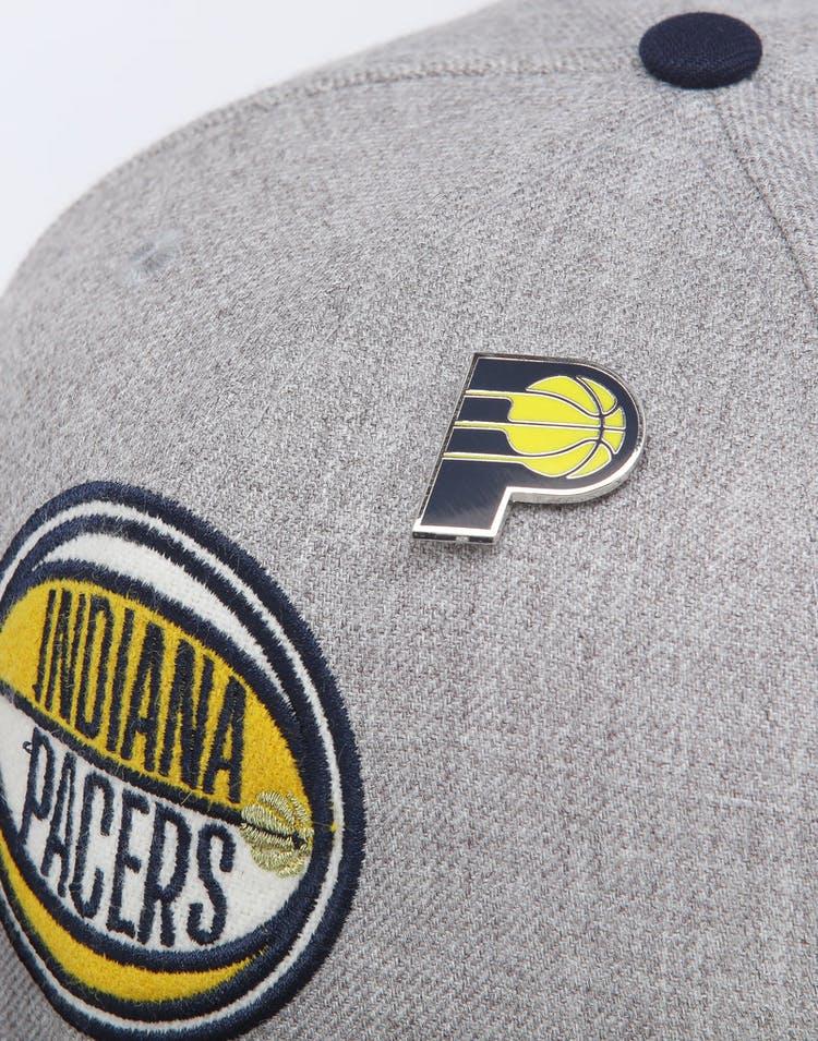 uk availability 6b095 4927c New Era Indiana Pacers 9Fifty NBA Draft Snapback Navy OTC