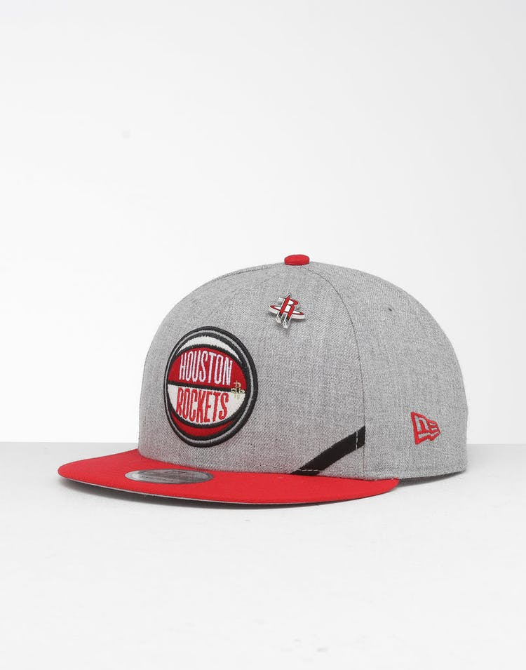 wholesale dealer 056ff a3659 New Era Houston Rockets 9Fifty NBA Draft Snapback Red OTC – Culture Kings