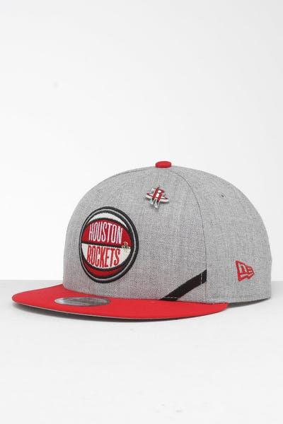 low priced 904d6 abc62 New Era Houston Rockets 9Fifty NBA Draft Snapback Red OTC ...