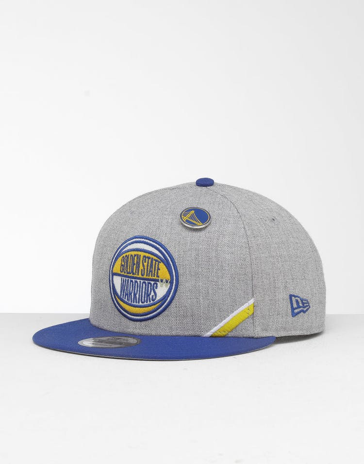 2bf4f010 New Era Golden State Warriors 9Fifty NBA Draft Snapback Royal/OTC – Culture  Kings