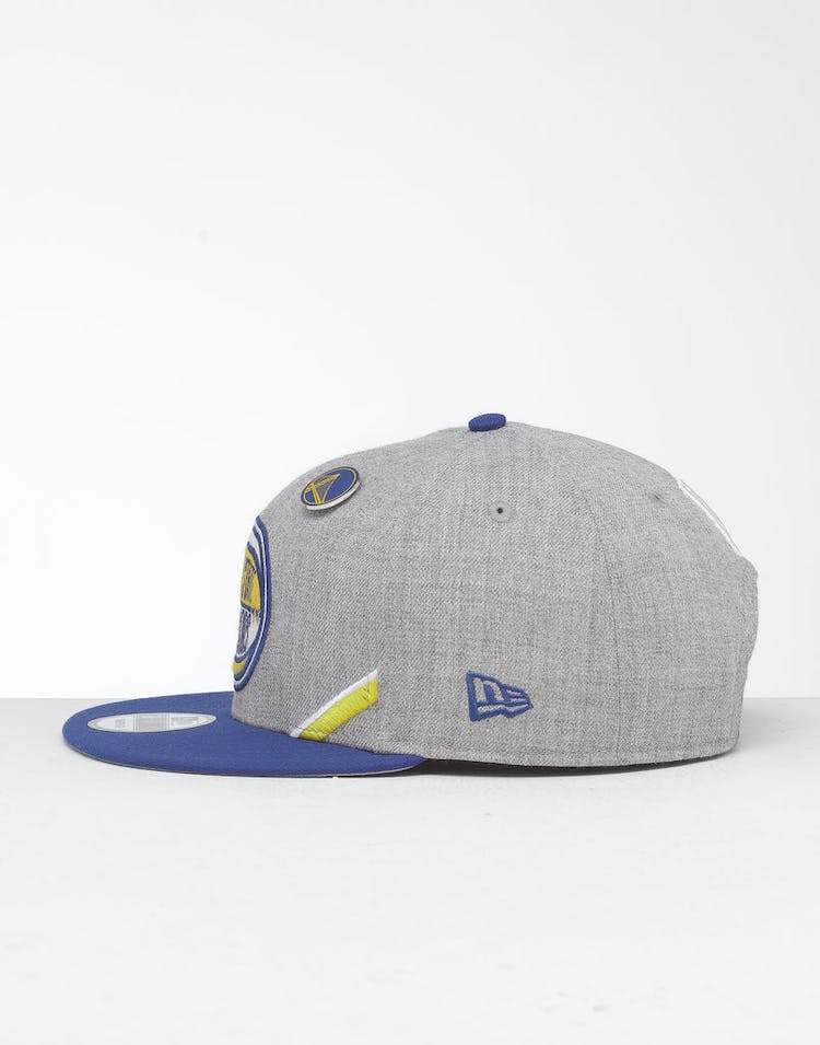 938cd0ab New Era Golden State Warriors 9Fifty NBA Draft Snapback Royal/OTC ...
