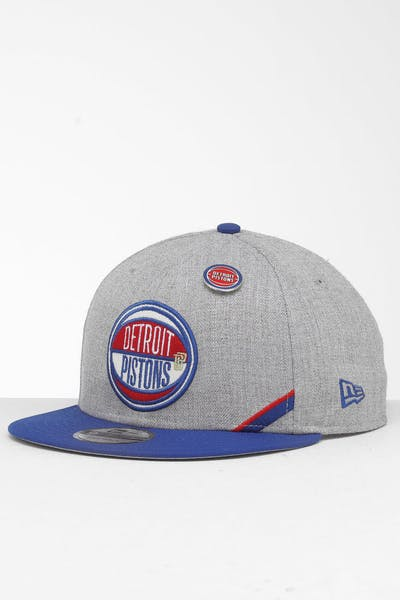 New Era Detroit Pistons 9Fifty NBA Draft Snapback Dark Blue/OTC