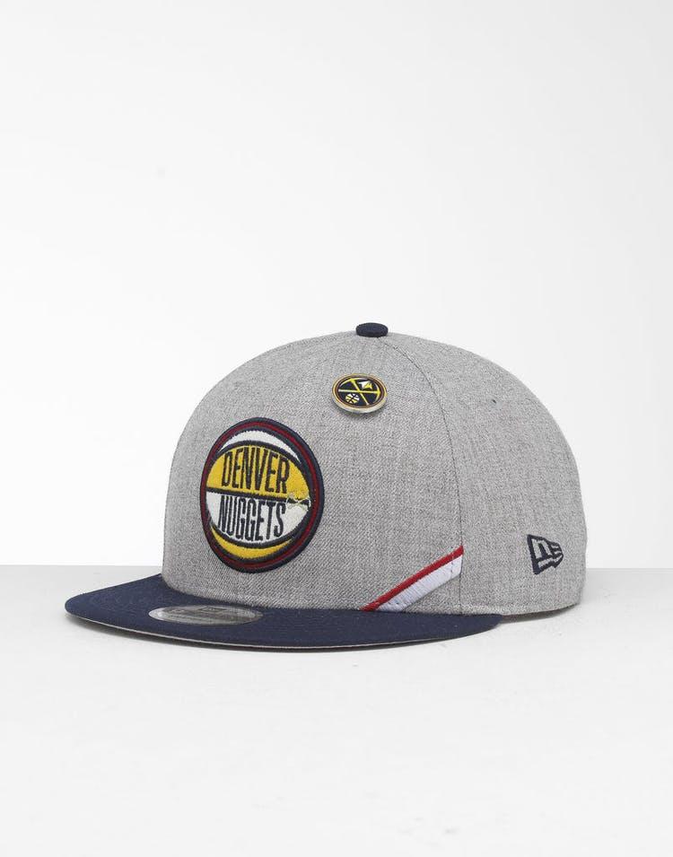 new product 4dad6 95ab4 New Era Denver Nuggets 9Fifty NBA Draft Snapback Navy OTC – Culture Kings
