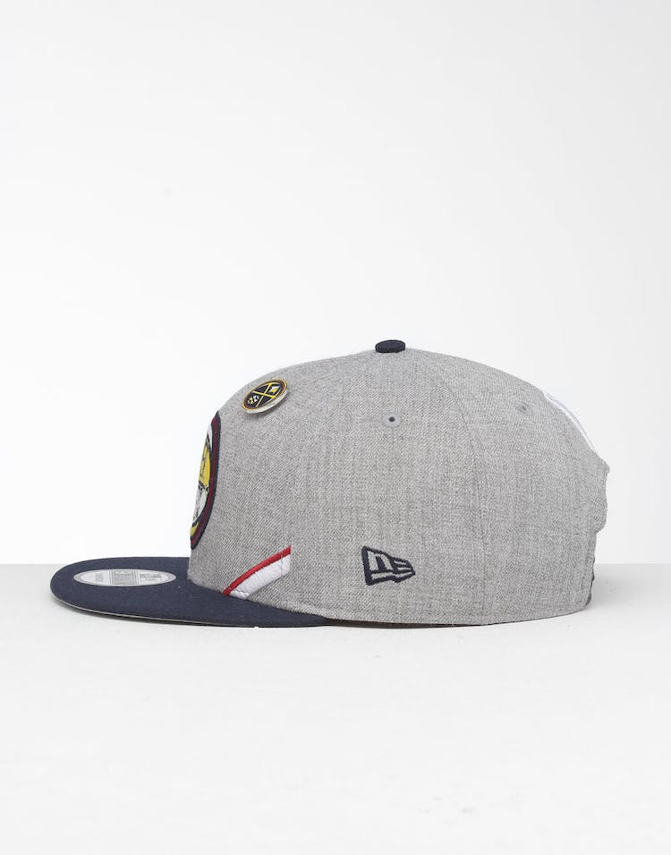 buy popular eebdb e1c12 New Era Denver Nuggets 9Fifty NBA Draft Snapback Navy OTC