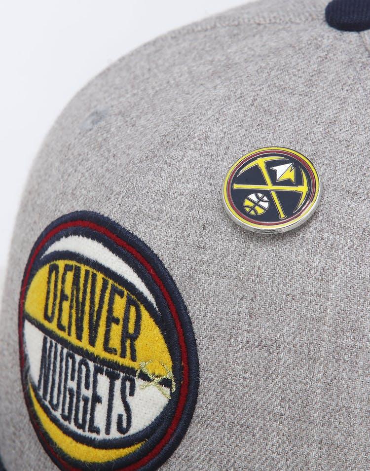 buy popular a4ed3 27ff8 New Era Denver Nuggets 9Fifty NBA Draft Snapback Navy OTC