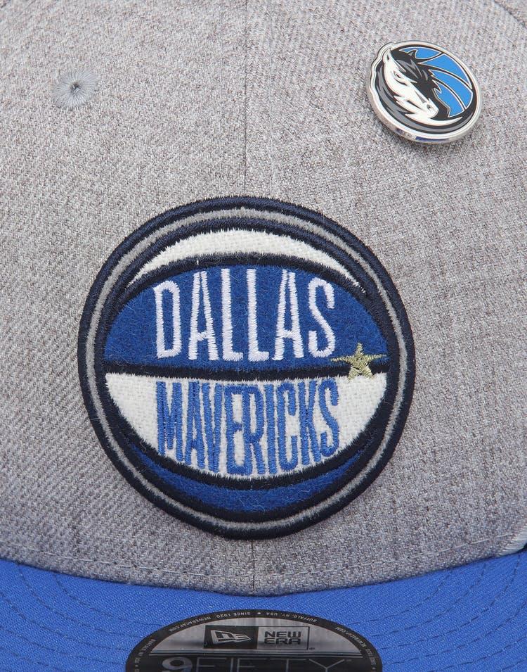 a11e33982 New Era Dallas Mavericks 9Fifty NBA Draft Snapback Blue/OTC