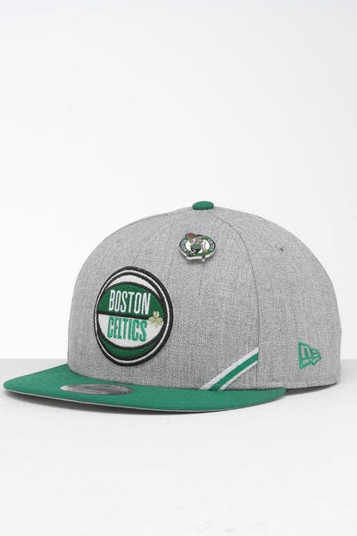 New Era Boston Celtics 9Fifty NBA Draft Snapback Green/OTC