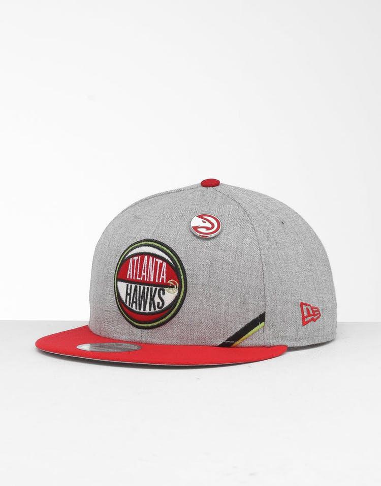 separation shoes 55710 b5c98 New Era Atlanta Hawks 9Fifty NBA Draft Snapback Red OTC – Culture Kings