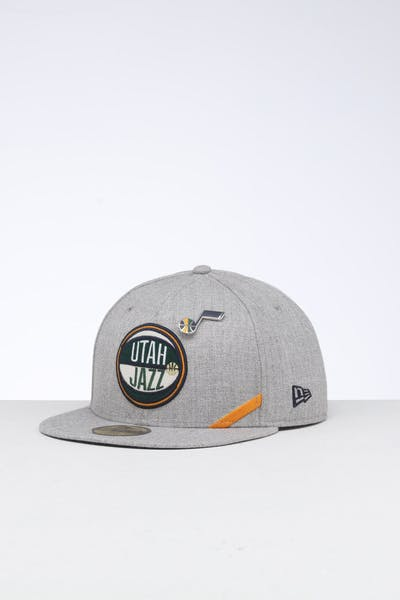 New Era Utah Jazz 59FIFTY NBA Draft Fitted Navy/OTC