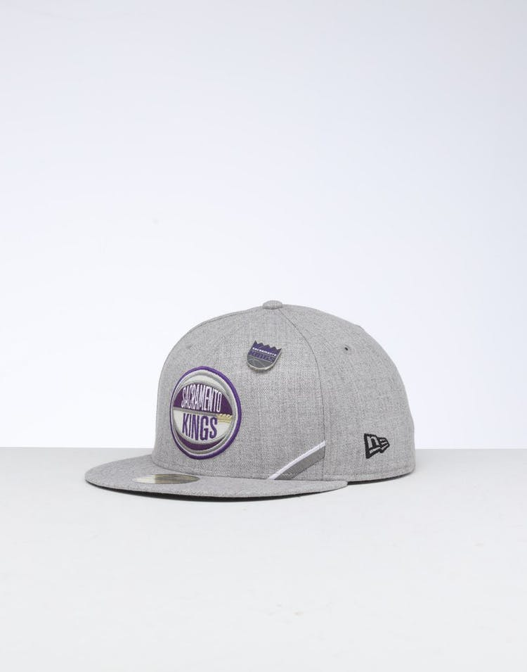 outlet store a21ca e567e New Era Sacramento Kings 59FIFTY NBA Draft Fitted Black OTC – Culture Kings