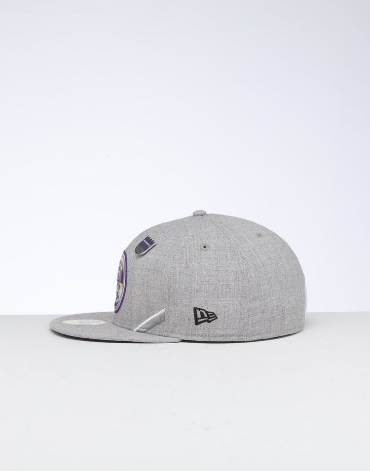 New Era Sacramento Kings 59FIFTY NBA Draft Fitted Black/OTC