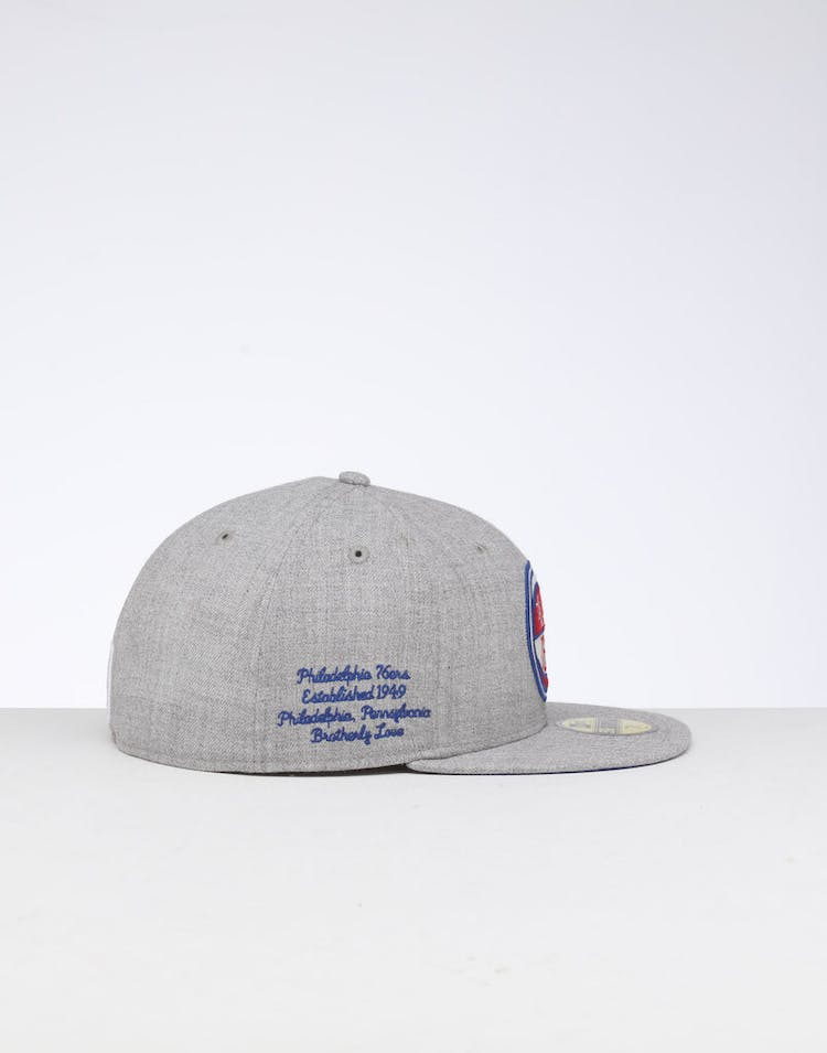 edf0fd7d8cf304 New Era | Philadelphia 76ers Cap Dark Blue/Gray | NBA Cap | Mens ...