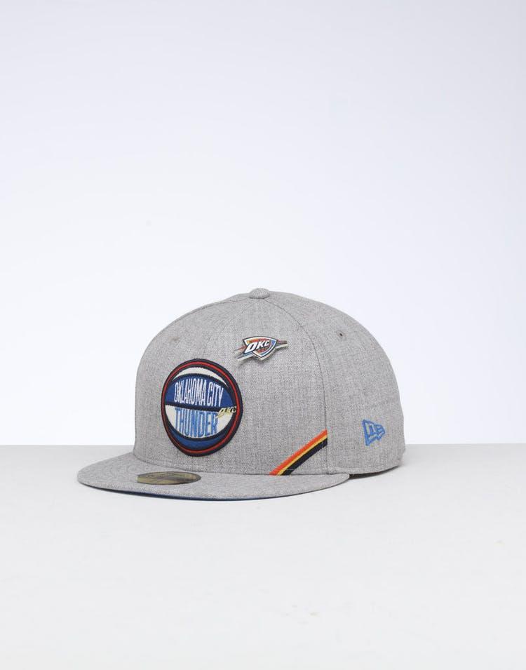 detailing b6a06 eaf6a New Era Oklahoma City Thunder 59FIFTY NBA Draft Fitted Blue OTC – Culture  Kings