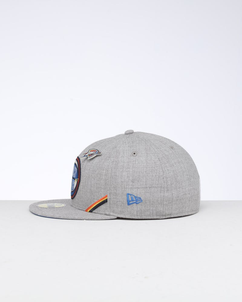 New Era Oklahoma City Thunder 59FIFTY NBA Draft Fitted Blue/OTC